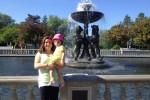 Lauren M mom at zoo