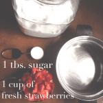 Summer Fun :: {Homemade Ice Cream + Strawberry Topping!}