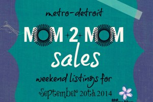 Mom2MomSalesMetroDetroit Sept 20