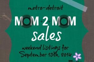 Mom2MomSalesMetroDetroitSept13