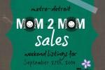 Mom2MomSalesMetroDetroitSept27