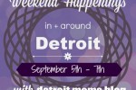 Weekend happenings spt 5 7