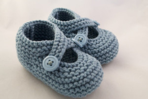 dawn baby bootie blue