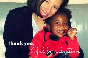 Annie thank you God for adoption