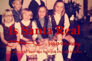 is santa real mommy graphic