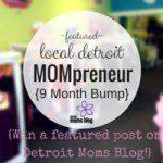 Meet A Detroit Mompreneur :: 9 Month Bump