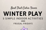 Frugal Friday winter play