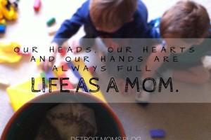 life as a mom 1