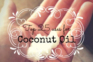 top 25 uses for coconut oil DMB