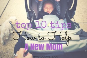 10 tips to help a new mom