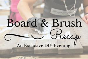 Board & BrushRecapImage