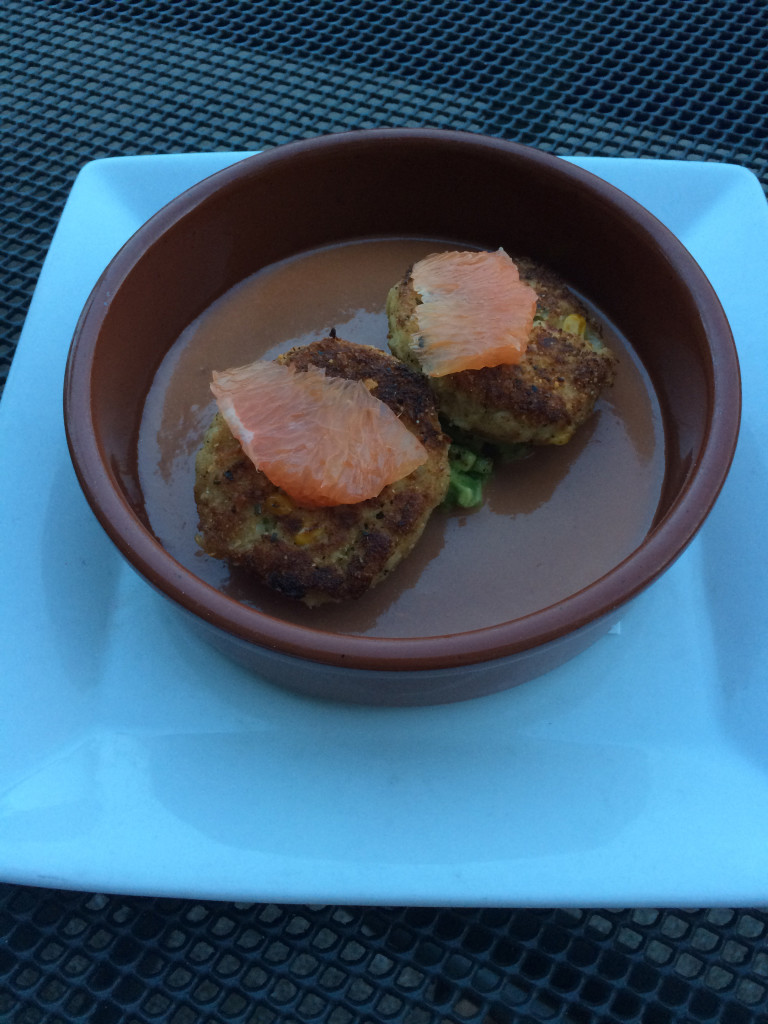The Crab Cakes and Italian Wedding Soup