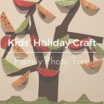 Kids' Holiday Craft: Family Photo Tree