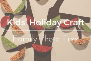 Kid's Holiday CraftFB