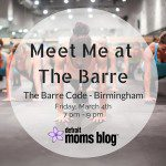 Meet Me at the Barre {Mom's Night Out}