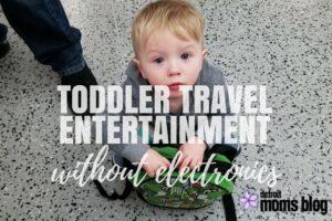TODDLER TRAVEL ENTERTAINMENT