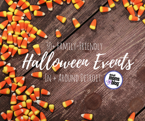 family friendly halloween events around detroit