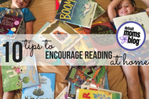 10 Tips to Encourage Reading