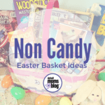 A Sugar-Free Easter {Non Candy Easter Basket Ideas}