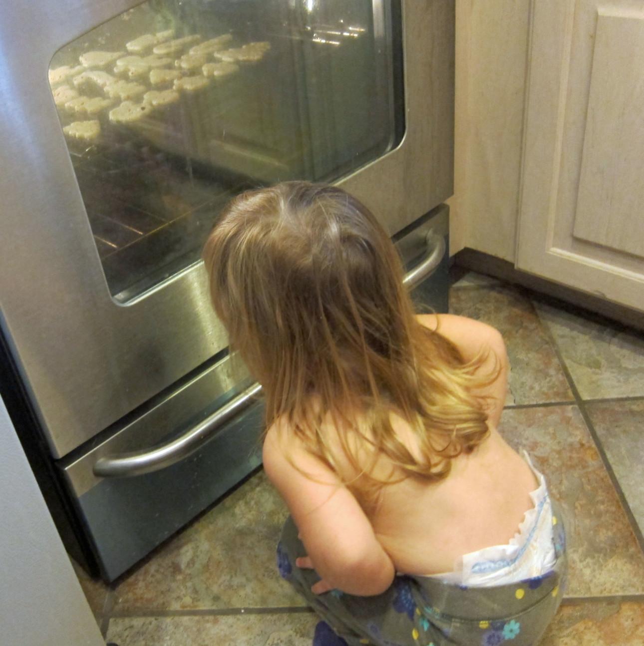 Kids Kitchen Cookies Oven