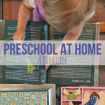 Preschool at Home: A DIY Guide