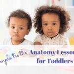 The Simple Truth {An Anatomy Lesson for my Toddler}