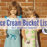 Summertime Ice Cream Bucket List