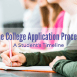 The College Application Process: A Student Timeline