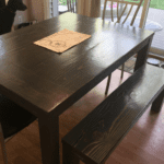 One Sticky Kitchen Table