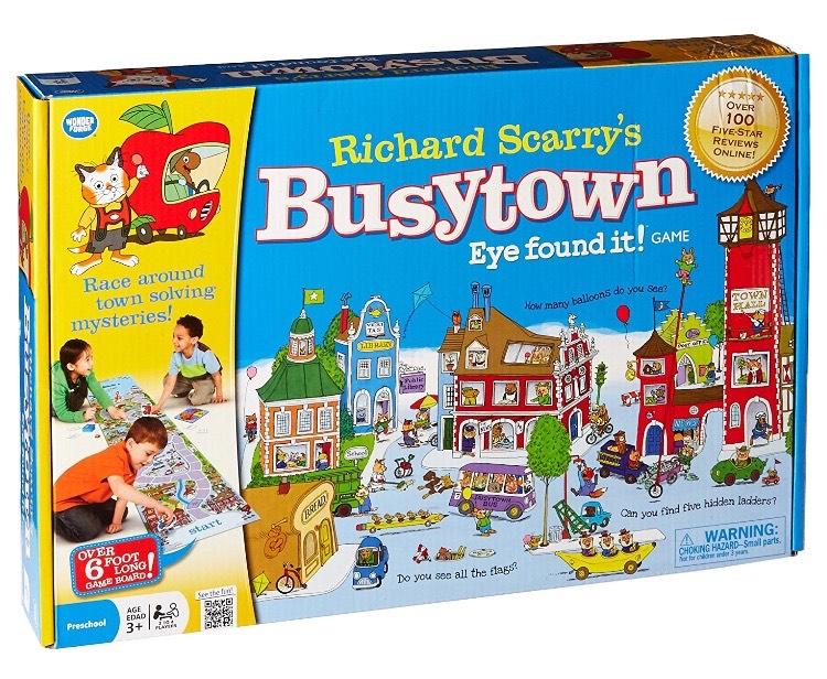 Best Board Games for preschoolers Busytown Richard Scarry Eye Found It