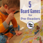 5 Great Board Games for Pre-Readers