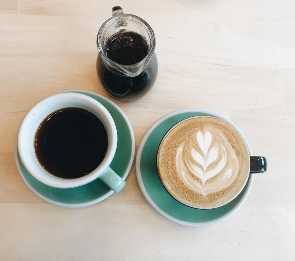 Teacher's Dream Appreciation Gift Guide, coffee mugs, coffee shot, latte art