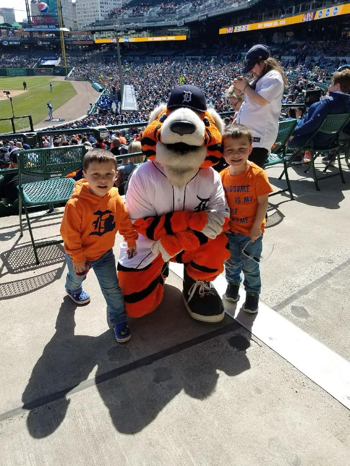 Tigers April 22