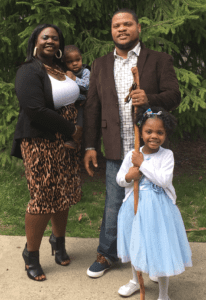 Alicia McKay and family