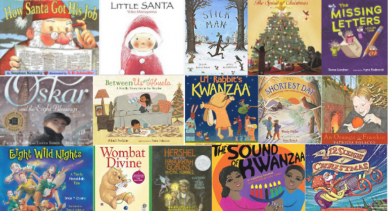 16 Holiday Children's Books to Enjoy with Your Family