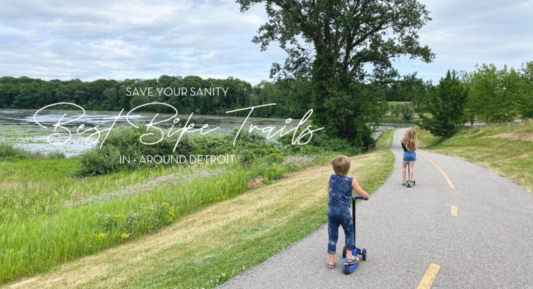 Save Your Sanity: Best Bike Trails In + Around Detroit