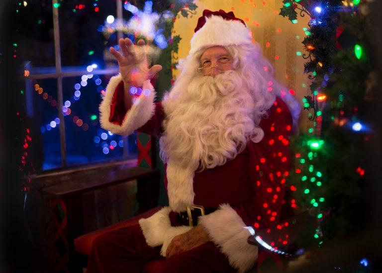 Where to Visit Santa Safely In + Around Detroit This Holiday Season