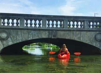 kayaking detroit