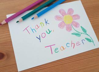 thank your child's teacher