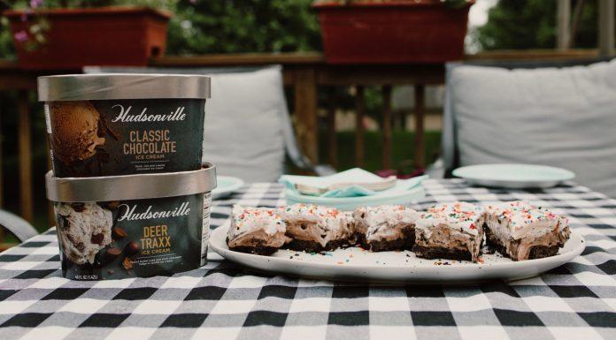 ice cream cake, Hudsonville